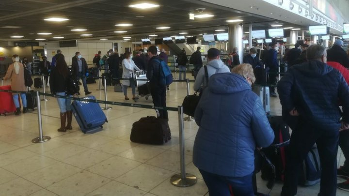 217 conaționali au fost repatriați din Irlanda în Republica Moldova cu un zbor charter