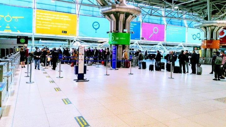 218 moldoveni au fost repatriați din Lisabona la Chișinău, cu un zbor charter