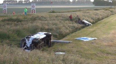 Accident grav în Olanda: Doi români au murit, iar alţi șapte au fost răniţi