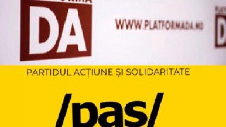 Primele reacţii ale PAS şi PPDA la îndemnul PRO MOLDOVA
