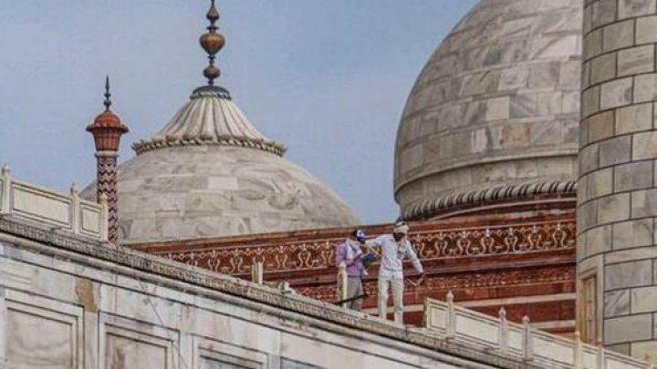 India: Templul Taj Mahal, avariat de o serie de furtuni puternice