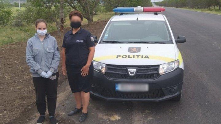 Fata din Comrat, dispărută acum patru zile, a fost găsită de poliție