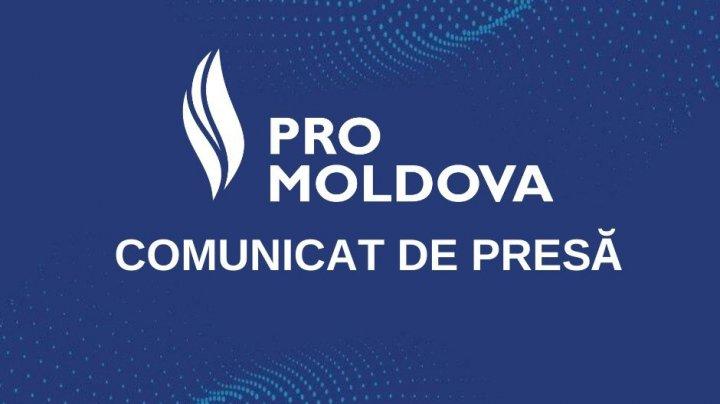 PRO MOLDOVA condamnă comportamentul profund anti-democratic cu tentă totalitară a conducerii Partidului Socialiștilor