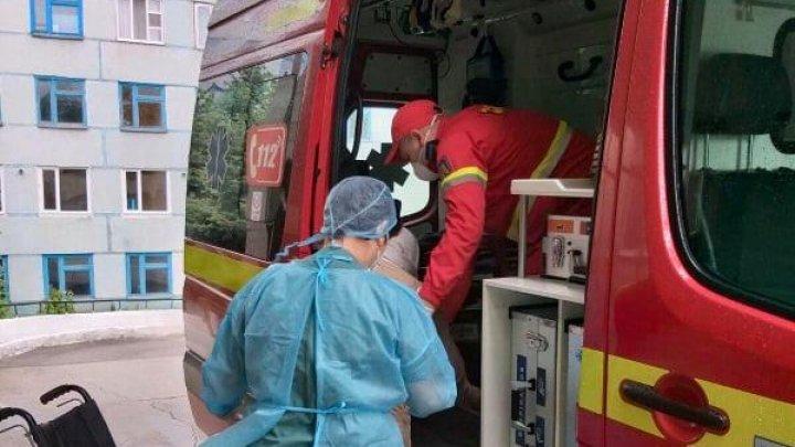O nouă misiune SMURD în Republica Moldova. O femeie din Bălți, transportată la Spitalul Clinic Republican din Chișinău