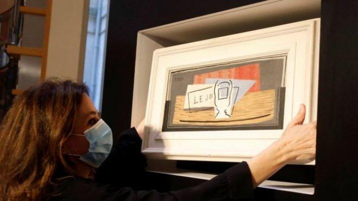 O femeie din Italia a câștigat la tombolă un tablou de Picasso, cu un bilet primit cadou