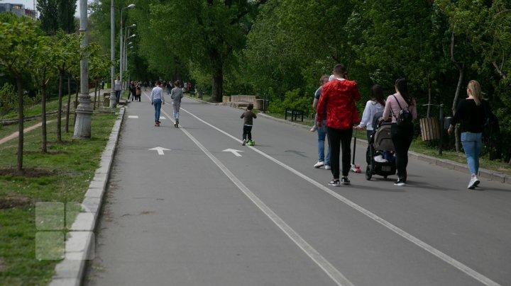 Chișinăul in ultima zi a stării de urgență. Pericolul coronavirusului nu a trecut (FOTOREPORT)