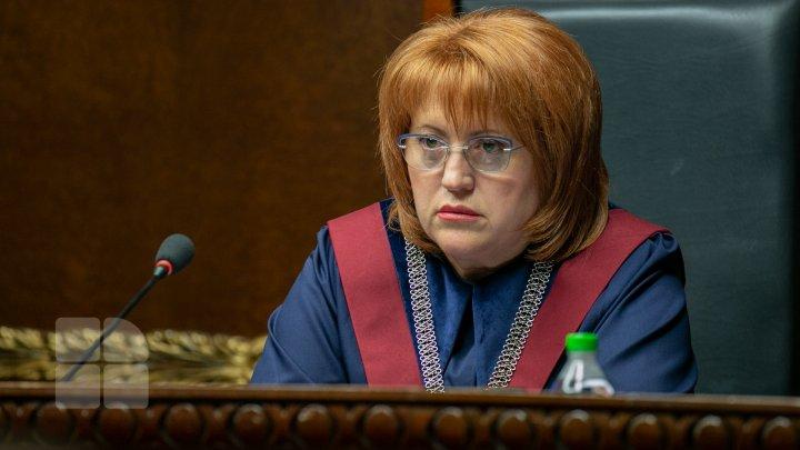 Domnica Manole va participa la examinarea subiectului privind revocarea mandatului său