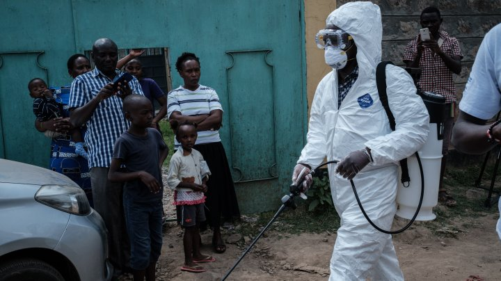În Africa, peste 200 de milioane de persoane ar putea fi infectate cu coronavirus într-un an