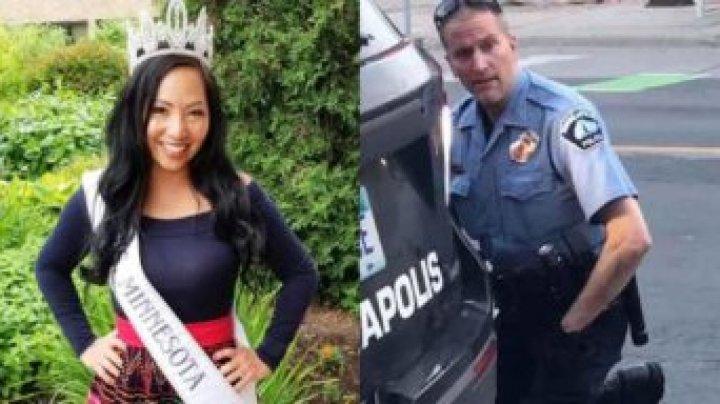 Soția polițistului criminal din Minneapolis a intentat divorț și cere să îi fie protejată familia și copiii