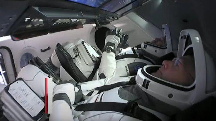 Misiune istorică! NASA trimite oameni în spațiu cu o navă SpaceX. Urmăriți lansarea într-o transmisiune LIVE