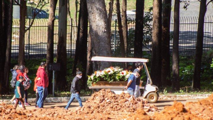 Brazilia devine a treia cea mai afectată țară din lume de COVID-19