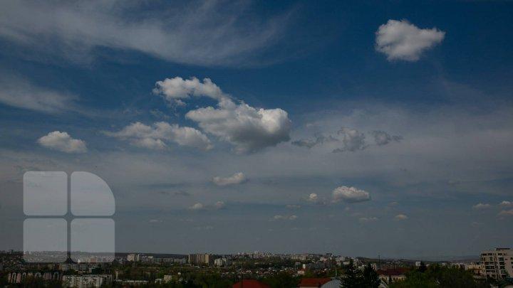 Mâine, în nordul şi centrul ţării sunt prognozate ploi