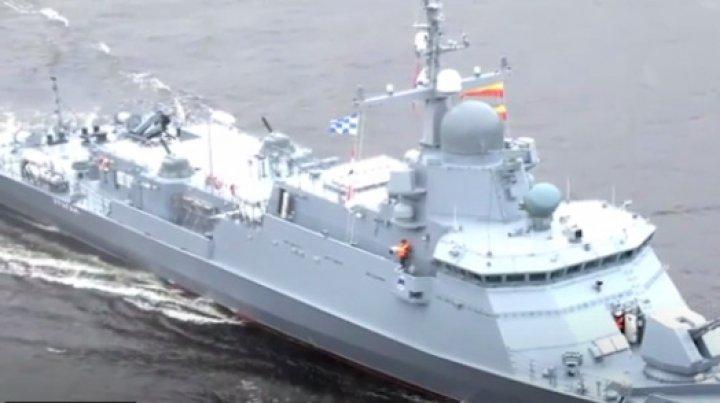Rusia îşi îmbogăţeşte Flota Baltică cu şase nave de luptă de ultimă generaţie (VIDEO)