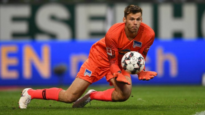 Gafă monumentală în Bundesliga. Rune Jarstein a comis o greşeală copilărească