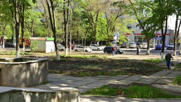 Scuarul de pe strada V. Dokuceav din cartierul Telecentru al Capitalei va fi reamenajat