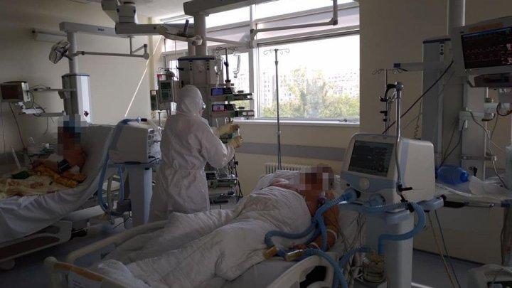 Explozie de cazuri zilnice de coronavirus în Moldova. Câţi pacienţi sunt în stare gravă