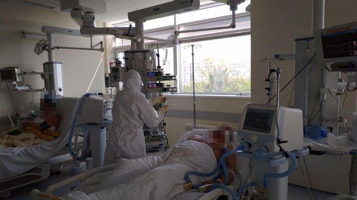 COD ROȘU de COVID-19 în Chișinău. Câți pacienți sunt internați în spitale, câți sunt în stare gravă și câți sunt intubați