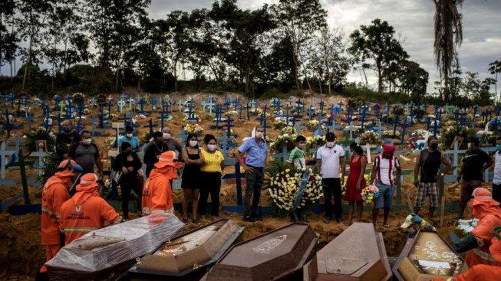 Brazilia ar putea ajunge la 1.000 de decese pe zi, spune ministrul Sănătății