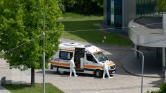 ambulanţe / medici /Centrul Covid-19 // foto: publika.md