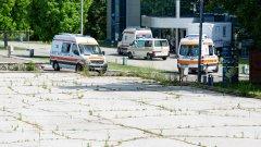 Ambulanţe, Centrul COVID-19 // foto: publika.md