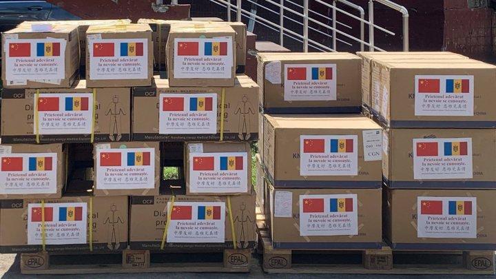 Republica Populară Chineză oferă un nou lot de asistență umanitară Republicii Moldova