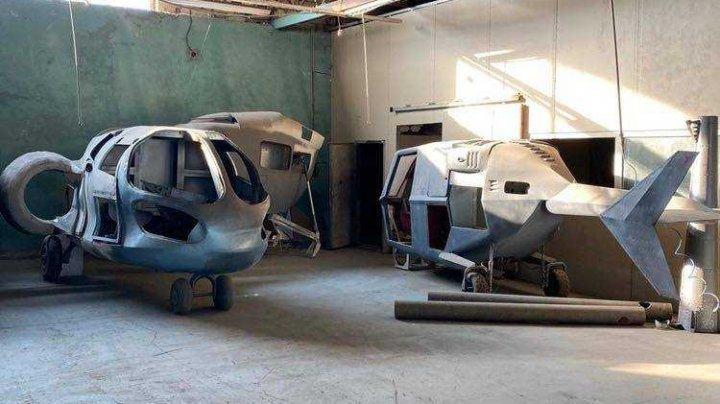 Moldova produce şi elicoptere! Procurorii au descoperit la Criuleni un hangar cu aparate de zbor fabricate clandestin pentru CSI (FOTO/VIDEO)