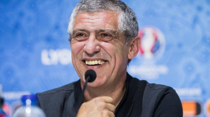 Federaţia Portugheză de Fotbal i-a prelungit contractul lui Fernando Santos până în vara anului 2024