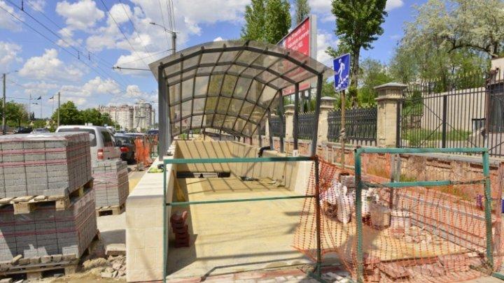Un pasaj subteran din sectorul centru este în stadiu de finalizare
