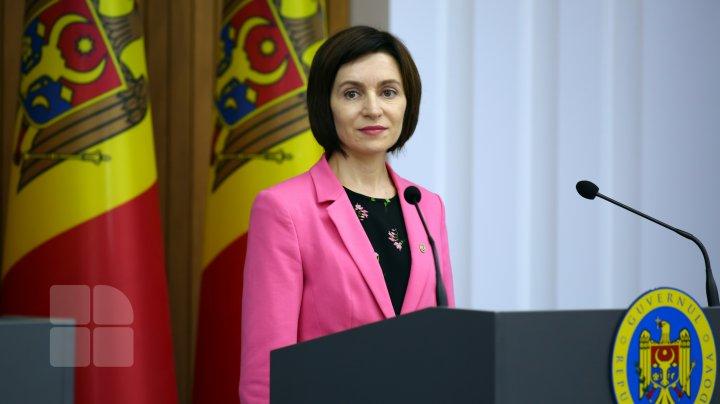 Președintele ales Maia Sandu a dezvăluit numele altor patru viitori consilieri prezidențiali
