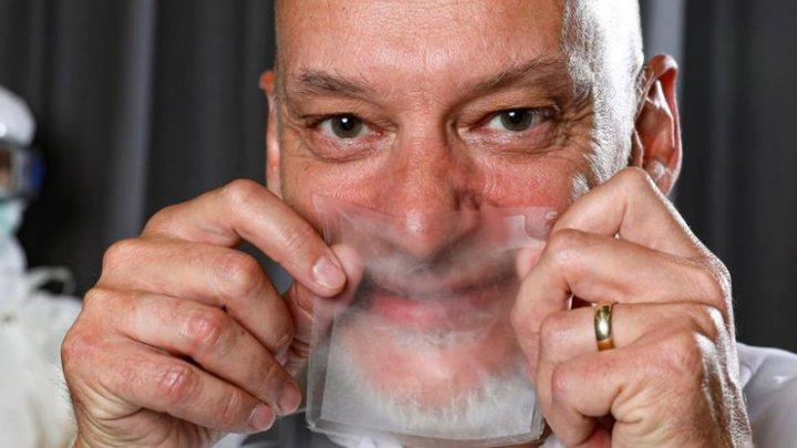 A fost creată masca de protecție transparentă, prin care poți respira