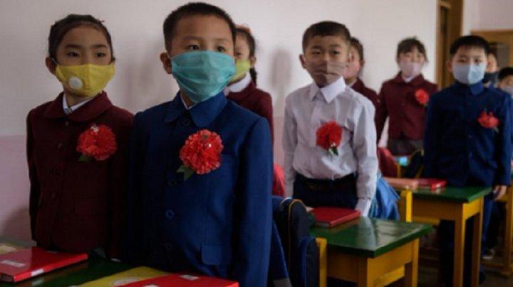 Elevii din Coreea de Nord se reîntorc la şcoală. Ce reguli vor trebui să respecte