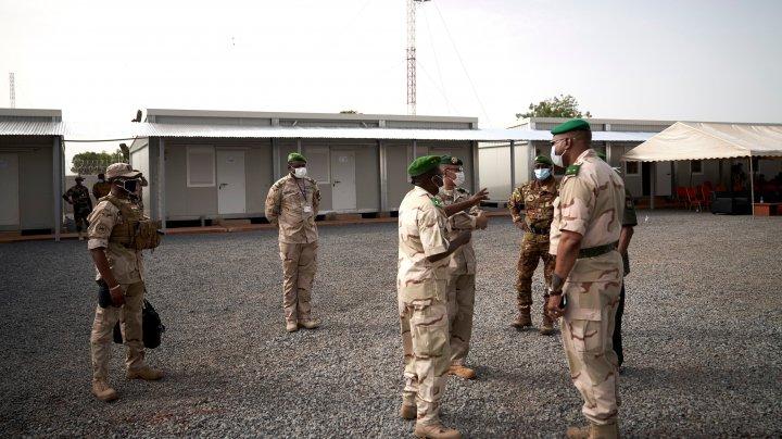 Doi membri ai contingentului ONU au fost ucişi într-un atac terorist produs în Mali