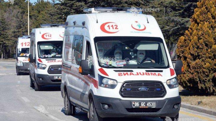 Autobuz al armatei răsturnat în Turcia: cinci militari morţi şi zece răniţi