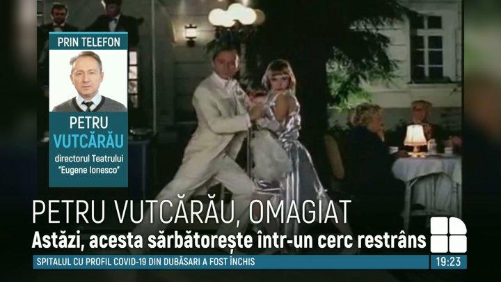 """""""Am ciocnit un pahar de șampanie!"""" Cum își sărbătorește ziua de naștere maestrul Petru Vutcărău"""