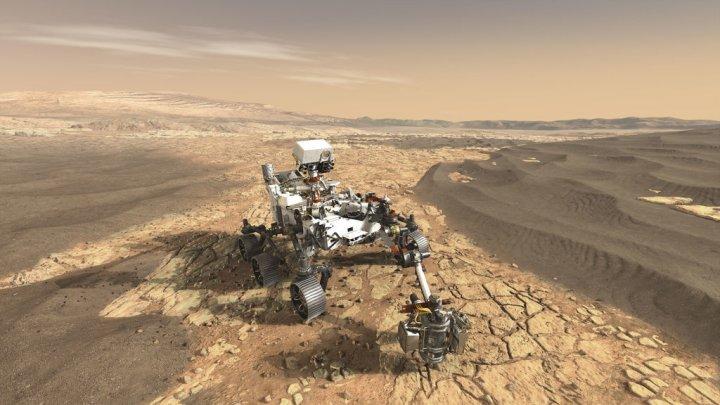 Cinci cercetători europeni fac parte din echipa NASA Mars 2020