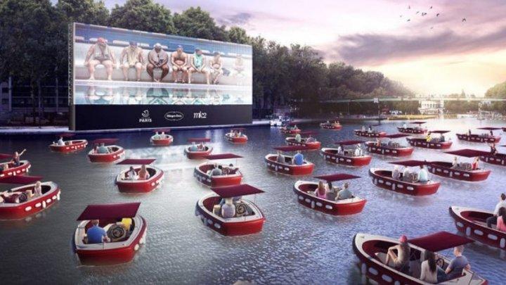În aceasta vară Parisul lansează primul său cinematograf plutitor