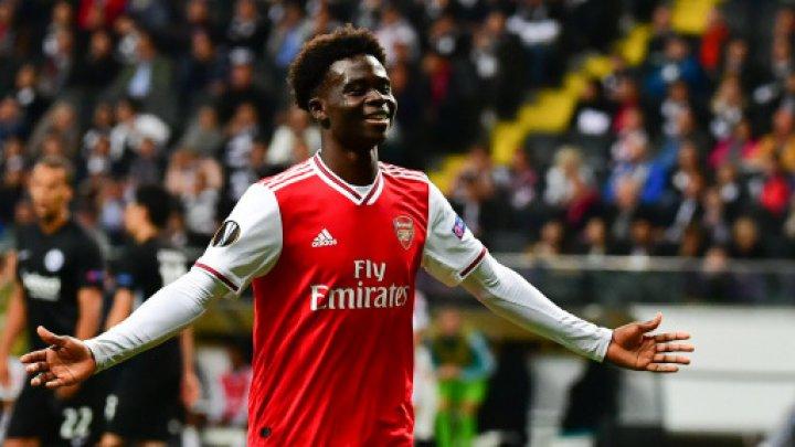 Arsenal ţine la bijuteriile sale. Bukayo Saka și-a prelungit contractul cu clubul londonez