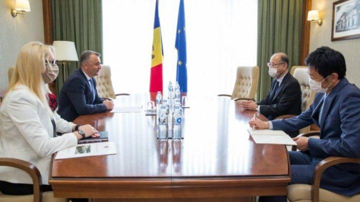 Ion Chicu a avut o întrevedere cu noul ambasador al Japoniei în Moldova. Despre ce au discutat oficialii