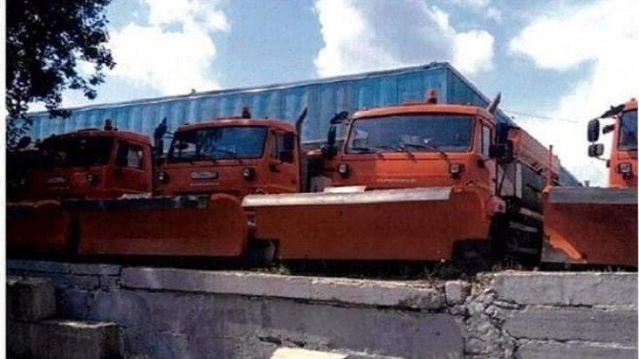 Municipiul Chişinău va primi în dar CINCI autospeciale pentru deszăpezirea și salubrizarea drumurilor