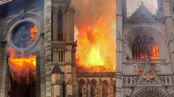 Poliţia a reţinut un suspect în legătură cu incendierea Catedralei din Nantes