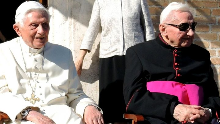 A murit Georg Ratzinger, fratele Papei emerit Benedict al XVI-lea