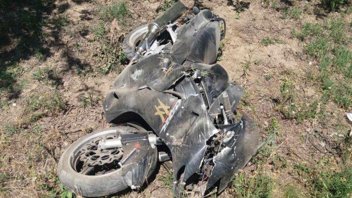 Accident FATAL la Criuleni. Un motociclist de 33 de ani a murit (FOTO)
