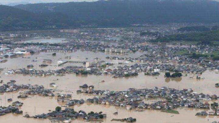 Japonia: 1,1 milioane de persoane au primit ordine de evacuare, după ce ploile torenţiale au făcut 44 de victime