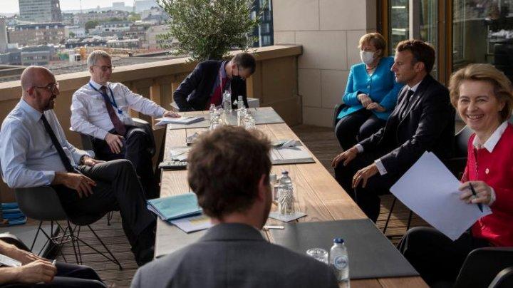 Summit prelungit. Liderii UE se întâlnesc din nou pentru a negocia planul de relansare economică după pandemia de coronavirus