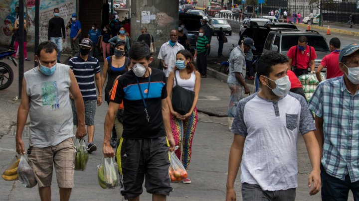Venezuela ia măsuri de relaxare, în pofida creşterii numărului de infectări