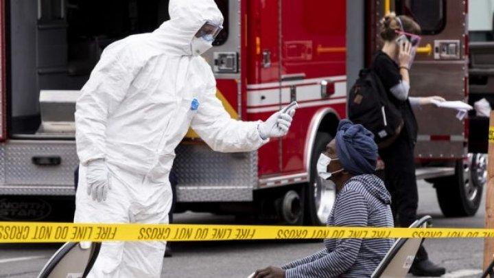 SUA au înregistrat pentru a doua zi consecutiv peste 70 000 de cazuri de coronavirus şi 1 000 de decese