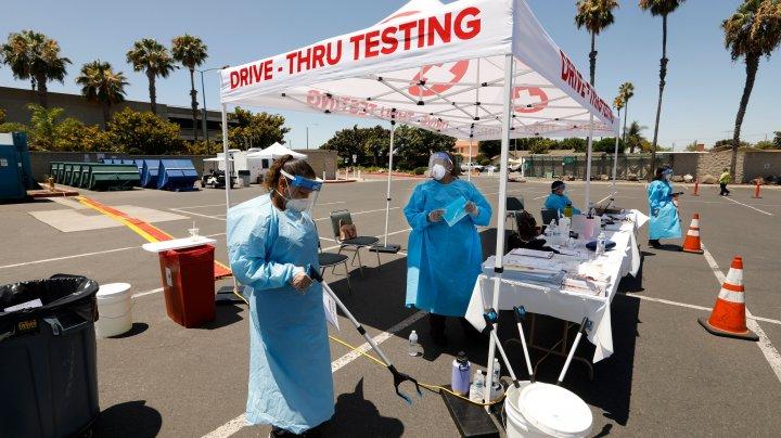 California a depășit New York și a devenit noul epicentru al epidemiei de coronavirus din SUA