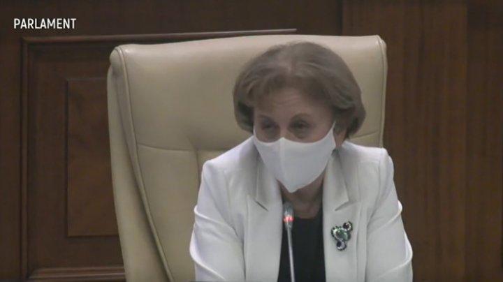 REACŢIA Zinaidei Greceanîi privind haosul de la şedinţa de astăzi a Parlamentului