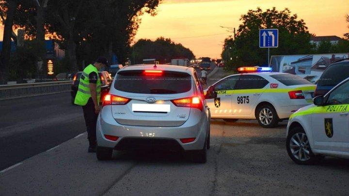 Zeci de şoferi nedisciplinaţi au fost amendaţi în urma raidurilor nocturne