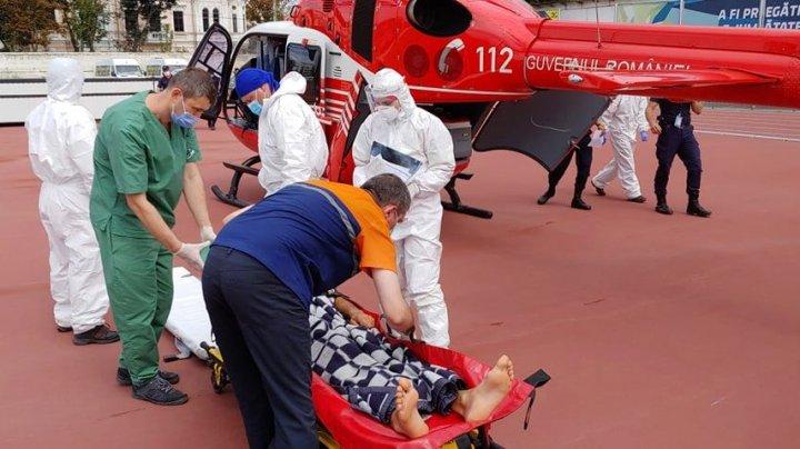 O nouă intervenţie SMURD. Un bărbat din Cahul a fost transportat la Chişinău